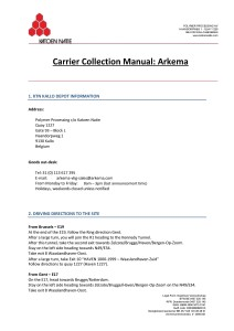 Carrier manual instructions Arkema1